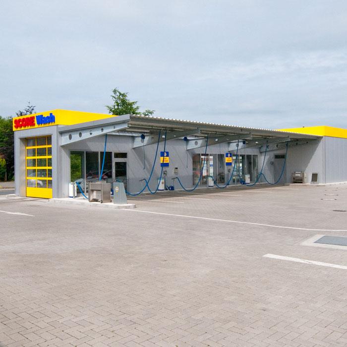 Tankstellen- Rast- und Waschanlagenbau